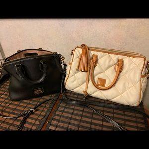 2 Dooney & Bourke Leather Purse Messenger